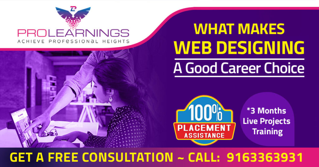Web Designing Course Your Gateway To An Explosive Career Prolearnings